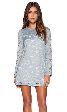 Motel Cybill Dress in Daisy Lace Blue