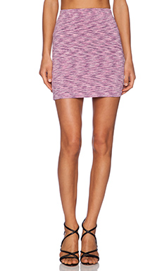Motel Lizard Marle Skirt in Lilac 70's Noise