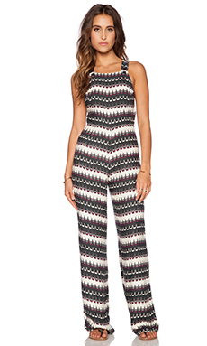 Motel Cross Me Jumpsuit in Esher Print