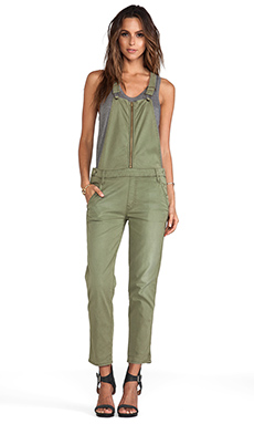 MOTHER Overall Dropout in Canteen Olive