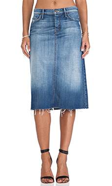 MOTHER Easy A Skirt in Always Look Twice