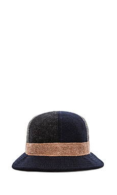 Mark McNairy New Amsterdam Bucket Hat in Mixed Wools