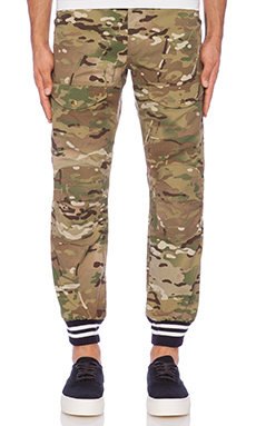 Mark McNairy New Amsterdam Combat Higgins Pant in Woodland Multicam