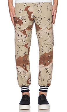 Mark McNairy New Amsterdam Higgins Pant in Chocolate Chip Camo
