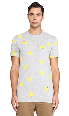 Mark McNairy New Amsterdam Rubber Duck Tee in Heather Grey