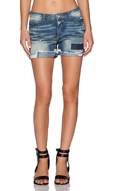 Maison Scotch Petit Ami Short in Blue Memories