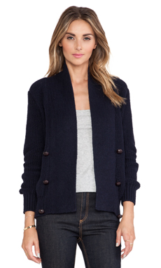 Maison Scotch Casual Cardigan in Navy