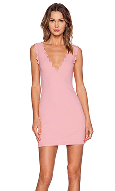 Marysia Swim Scallop Cover Up in Peony