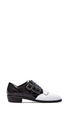 MODERN VICE COLLECTION Jett Shoe in Black & White