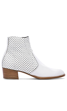 MODERN VICE COLLECTION Perforated Jett Boot in White