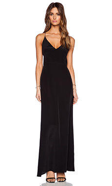 Myne Carter Maxi Dress in Black