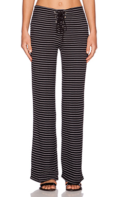 Myne Sur Pant in Black Stripe