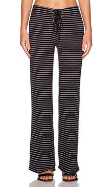 Myne Sur Pant in Black Stripe