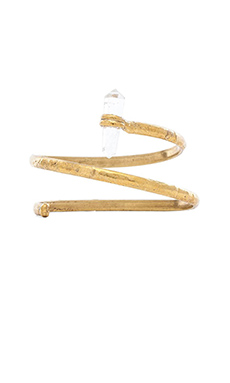 Natalie B Jewelry Little Dreamer Armband in Brass