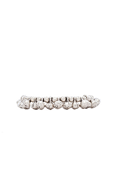 Natalie B Jewelry Ring of Fire Bracelet in Zinc