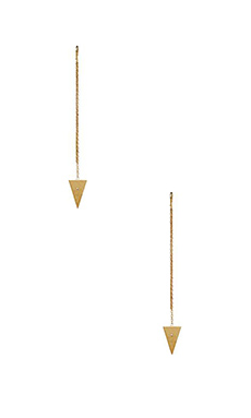 Natalie B Jewelry Petit Gateau Earring in Gold