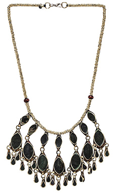 Natalie B Jewelry Dara Necklace in Slate