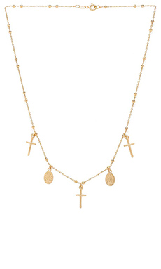 Natalie B Jewelry Miraculous Necklace in Gold