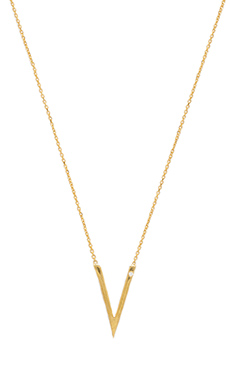 Natalie B Jewelry C'est La Vie Necklace in Gold