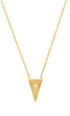 Natalie B Jewelry Petit Gateau Necklace in Gold