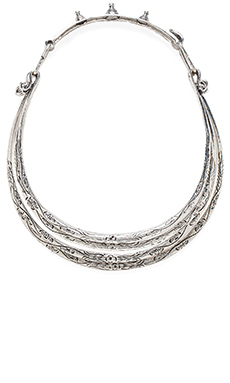 Natalie B Jewelry Soul Seeker Necklace in Silver
