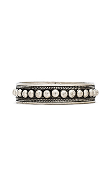 Natalie B Jewelry Round O' Bullets Bracelet in Silver