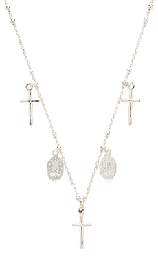 Natalie B Jewelry Miraculous Necklace in Silver