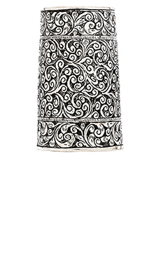Natalie B Jewelry Protector Cuff in Silver