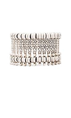 Natalie B Basilica Bracelet in Nickel