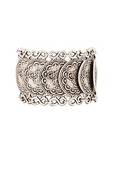Natalie B Jewelry Cypress Bazaar Bracelet in Silver