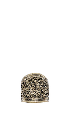 Natalie B Jewelry Elanit Ring in Silver