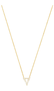 Natalie B Jewelry Baby Imperial Necklace in Gold