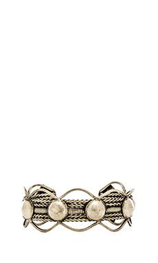 Natalie B Jewelry Yen Cuff in Silver