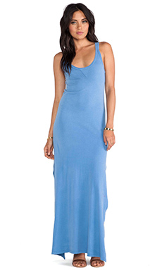Nation LTD Summerland Dress in Colony Blue
