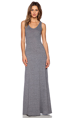 Nation LTD Santa Barbara Dress in Heather Grey