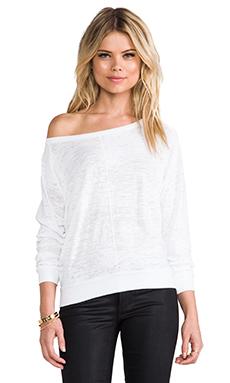 Nation LTD Malibu Sweatshirt in White