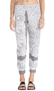 Nation LTD Torino Sweatpants in Lace