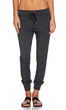 Nation LTD Montana Pant in Charcoal
