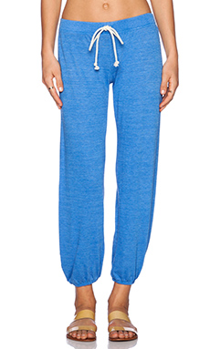 Nation LTD Medora Capri Sweatpant in Skydiver