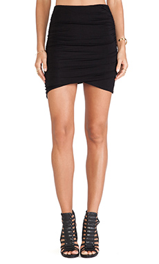 Nation LTD Golden State Skirt in Black