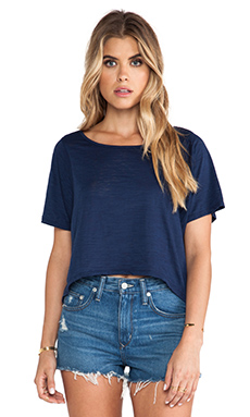 Nation LTD Burnout Missoula Tee in Nation Navy