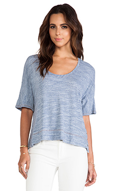 Nation LTD Hamilton Top in Chambray
