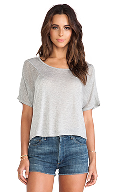 Nation LTD Meade Top in Heather Grey