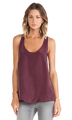 Nation LTD Seal Beach Tank in Wine & Black