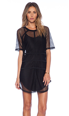 NBD It Girl Shift Dress in Black