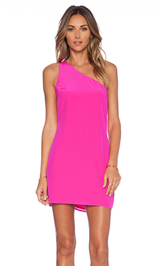 NBD x Naven Lure Dress in Fuschia