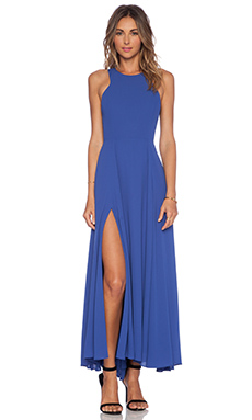 NBD x Naven Out Shine Maxi Dress in Cobalt
