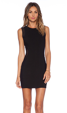 NBD x Naven Vanish Bodycon Dress in Black