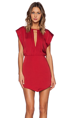 NBD Alluring Dress in Red
