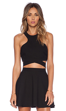 NBD x Naven Chromat Crossover Top in Black
